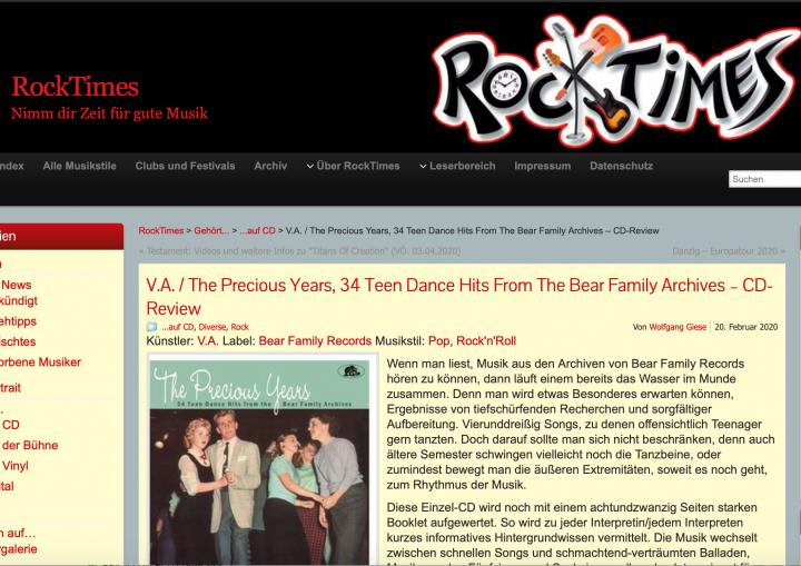 Presse-Archiv-The-Precious-Years-34-Teen-Dance-Hits-rocktimesMd7ZaMgL1bKvm