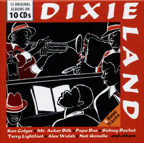 Dixieland (10-CD)