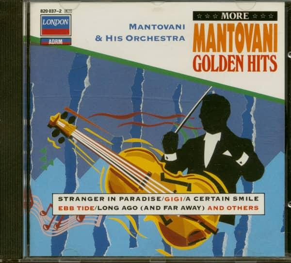 More Mantovani Golden Hits (CD)