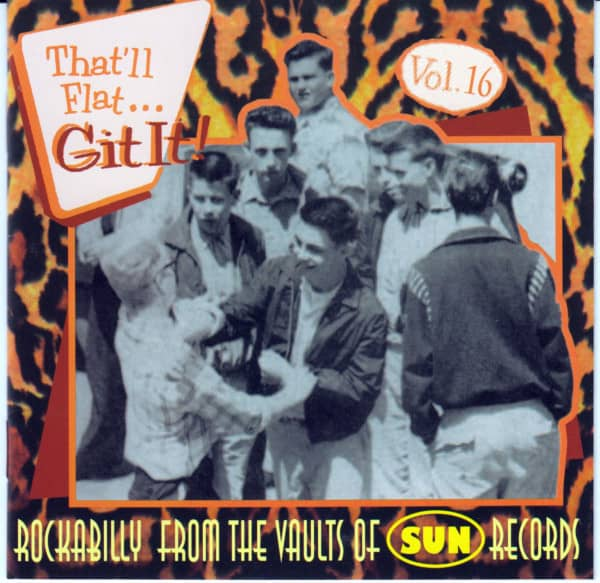 Vol.16 - Rockabilly From The Vaults Of Sun Records (CD)