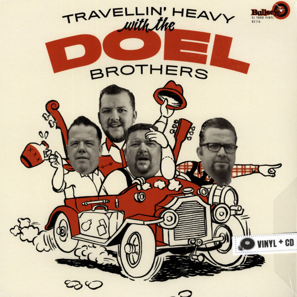 Travellin' Heavy With The The Doel Brothers (Vinyl & CD)