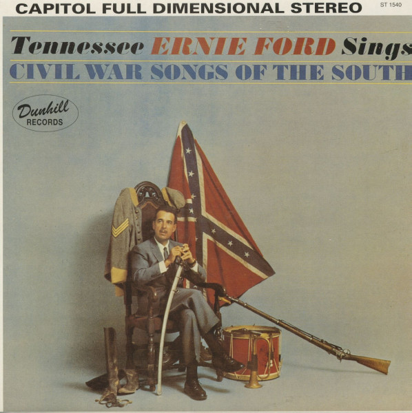 Tennessee Ernie Ford Sings Civil War Songs Of The South (LP)