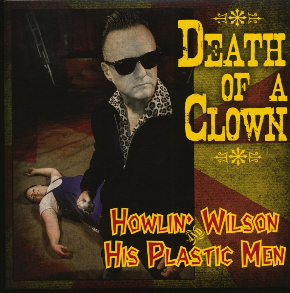 Death Of A Clown (7inch, EP, 45rpm, Yellow Vinyl, PS)