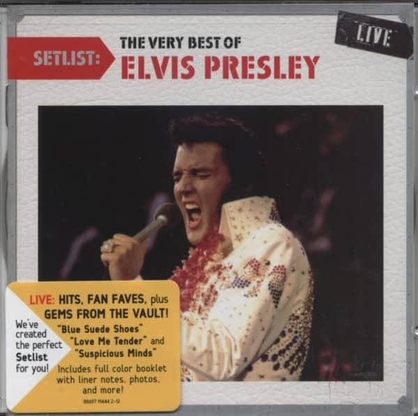 Setlist: Very Best Of Elvis 70s Live