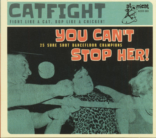 Catfight - You Can't Stop Her (CD)