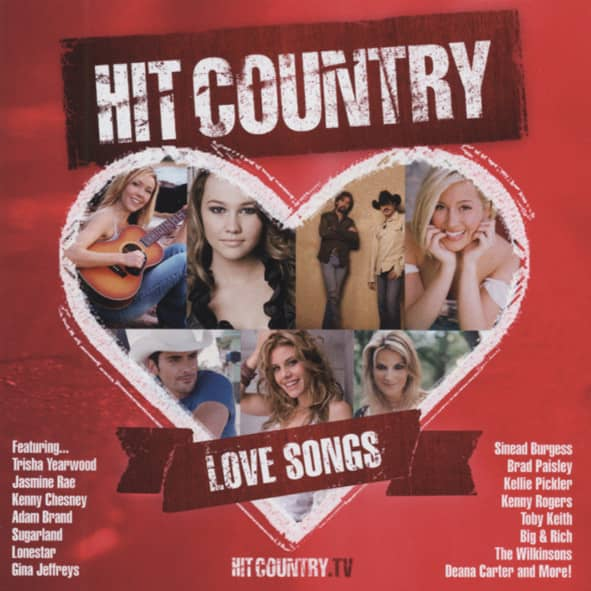 Hit Country - Love Songs 2-CD