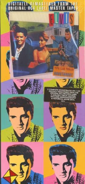 Viva Las Vegas - Roustabout (2 Soundtracks in 1CD Longbox)