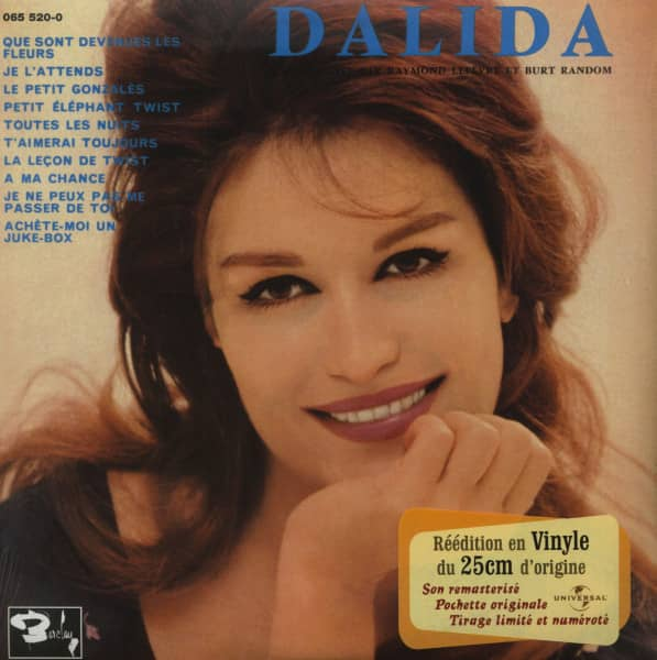 Dalida - 1962 (LP, 10inch, Ltd.)