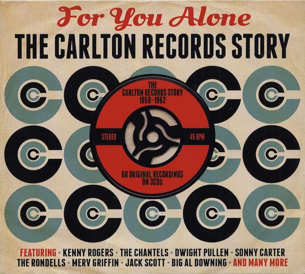 For You Alone - Carlton Records Story (3-CD)