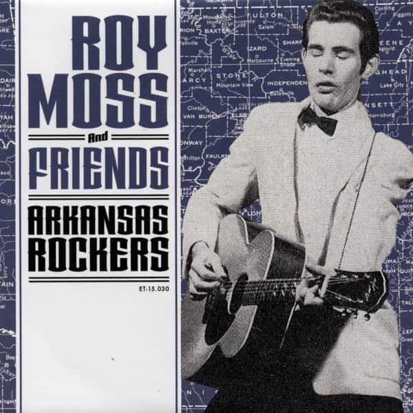Arkansas Rockers 7inch, 45rpm, EP, PS