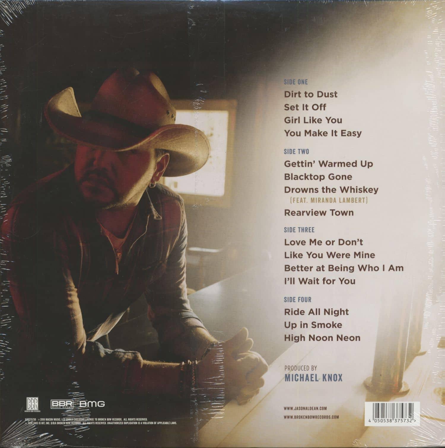 Rearview Town Jason Aldean: Jason Aldean LP: Rearview Town (2-LP)