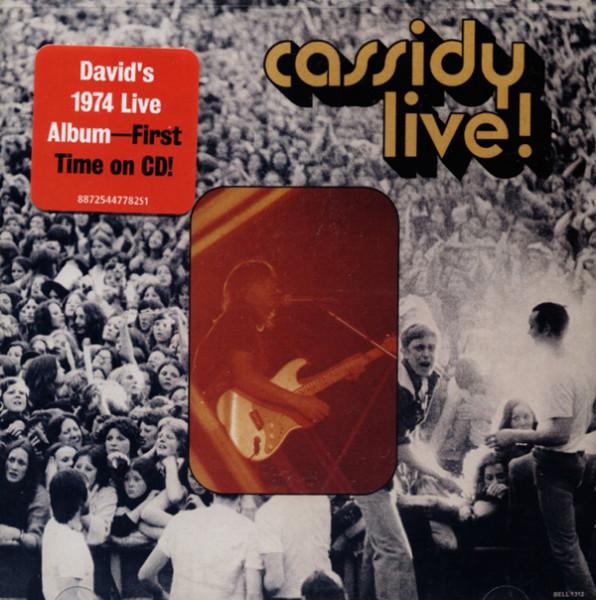 Cassidy Live! (1974)