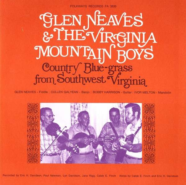 Country Bluegrass from Southwest Virginia