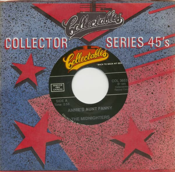 Only Annie's Aunt Fanny - Henry's Got Flat Feet (7inch, 45rpm, BC, CS)