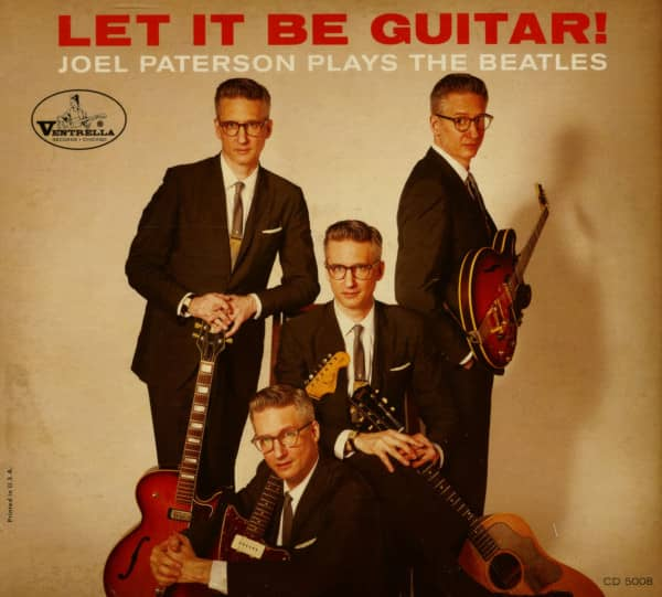 Let It Be Guitar - Joel Paterson Plays The Beatles (CD)