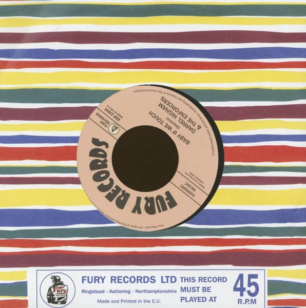 Baby If We Touch - I Wonder If You Wonder (7inch, 45rpm, BC)