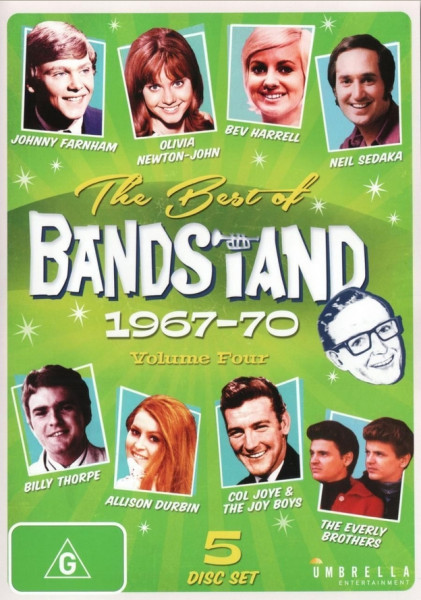 The Best Of Bandstand, Vol.4 1967-70 (5-DVD) (0)