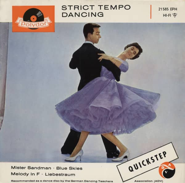 Strict Tempo Dancing - Quickstep 7inch EP PS