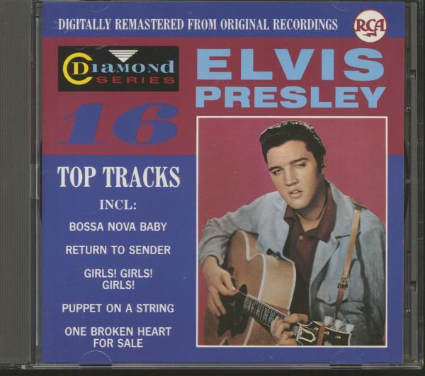Elvis Presley - 16 Top Tracks - Diamond Series - BMG 1988 (CD)