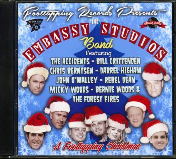 The Embassy Studios Band - A Foottapping Christmas (CD)