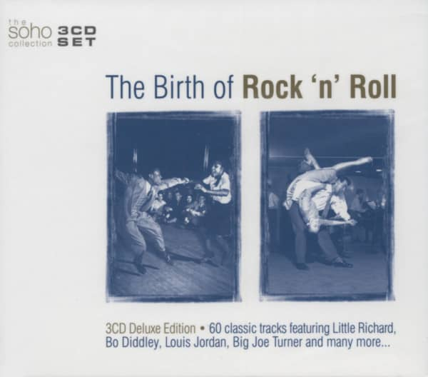 The Birth Of Rock & Roll (3-CD)