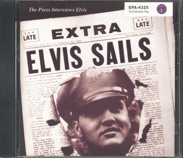 Elvis Sails - The Press Interviews (CD, German Version)