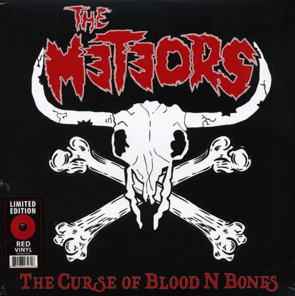 The Curse Of Blood N Bones (LP, Colored Vinyl, Ltd.)