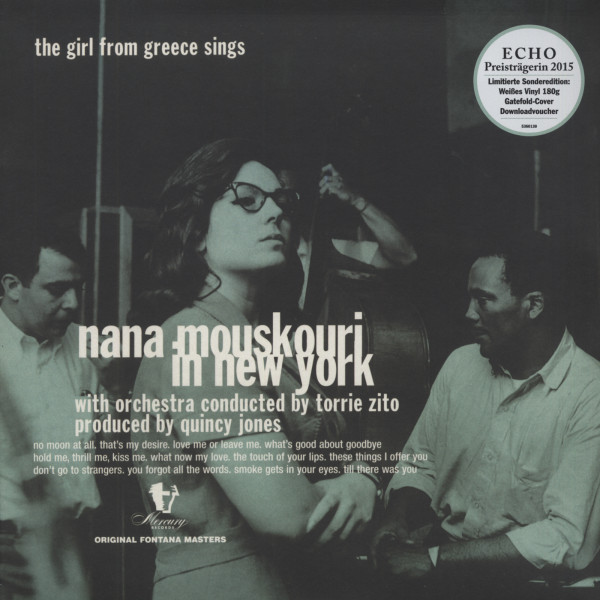 The Girl From Greece Sing - Nana Mouskouri In New York (180g white vinyl) Limited Edition