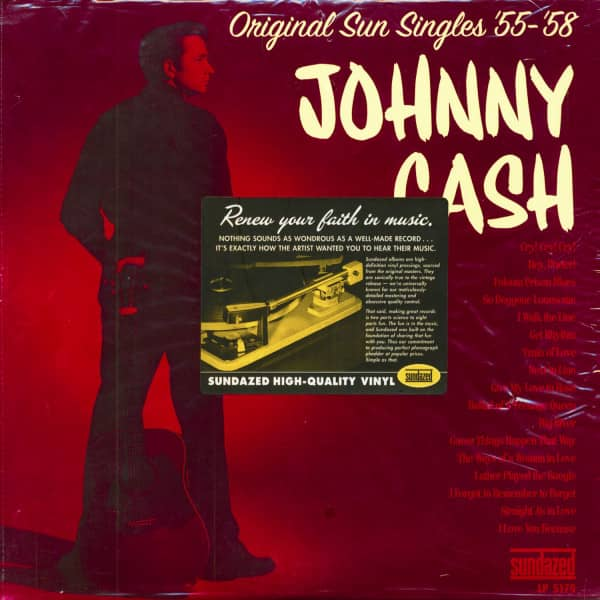 Original Sun Singles '54 - '58 (2-LP, 180g Vinyl)