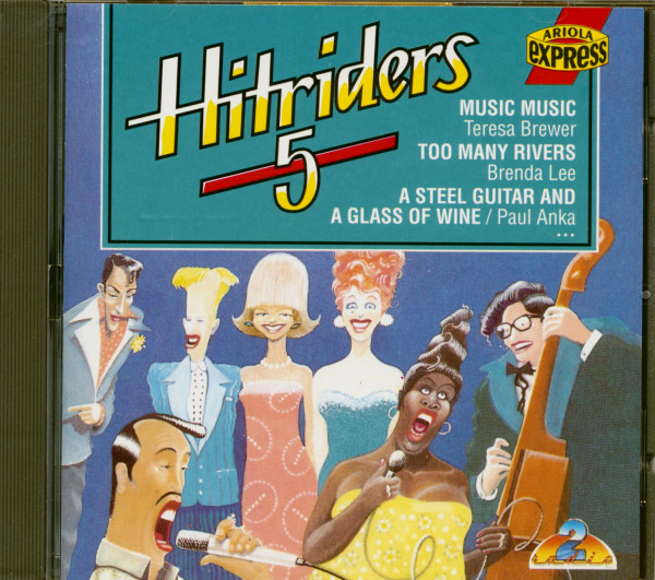 Hitriders Vol.5 (CD)