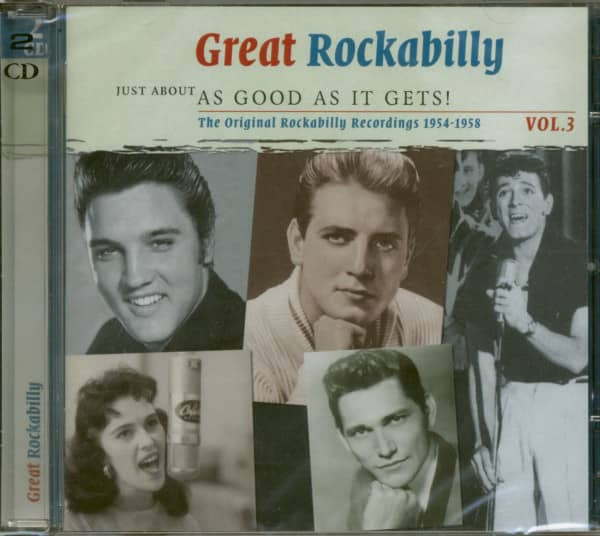 Great Rockabilly - As Good As It Gets Vol.3 (2-CD)