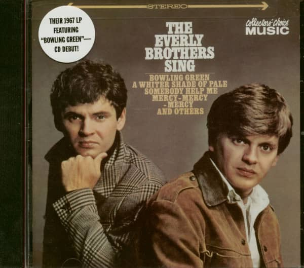 The Everly Brothers Sing (CD)