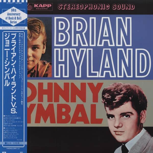 Brian Hyland V.S. Johnny Cymbal (Japan Vinyl-LP)