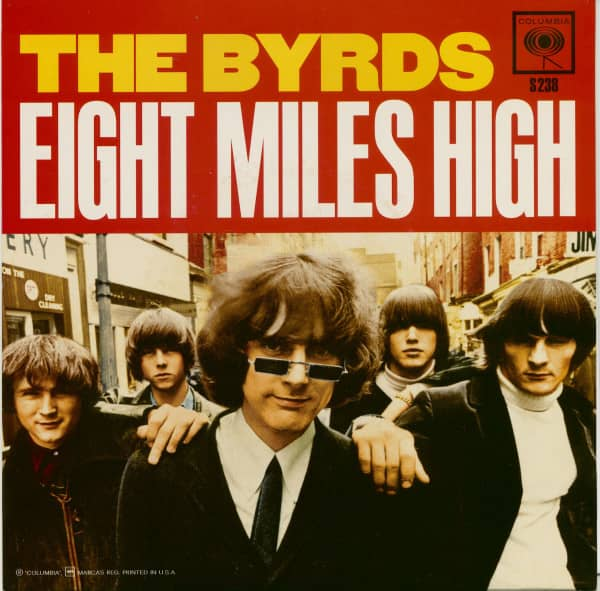 Eight Miles High (7 inch, Blue Vinyl, 45rpm, PS)