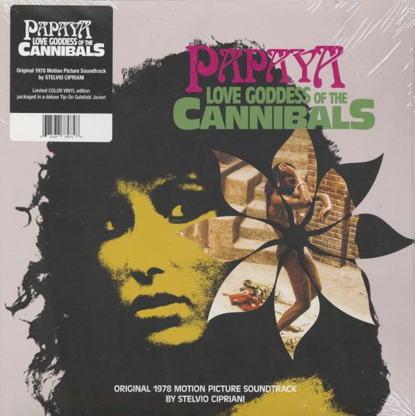 Papaya - Love Goddess Of The Cannibals - Soundtrack (LP, 180g Vinyl, Ltd.)