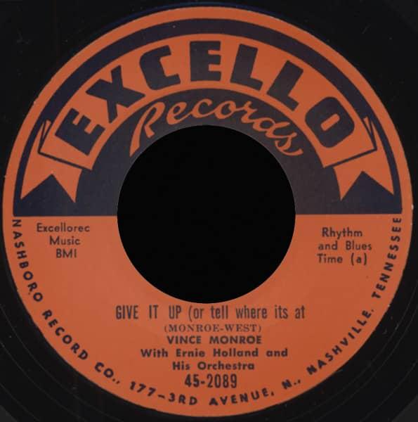 Vince Monroe - Guitar Gable 7inch, 45rpm