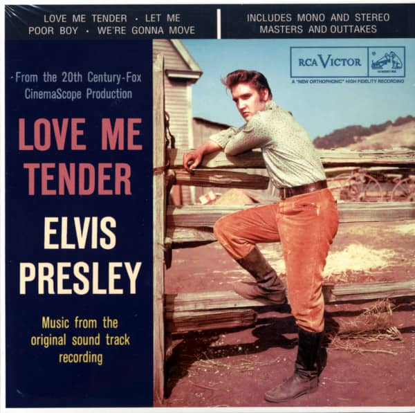 Love Me Tender...plus (2-CD, 7inch Deluxe Edition)