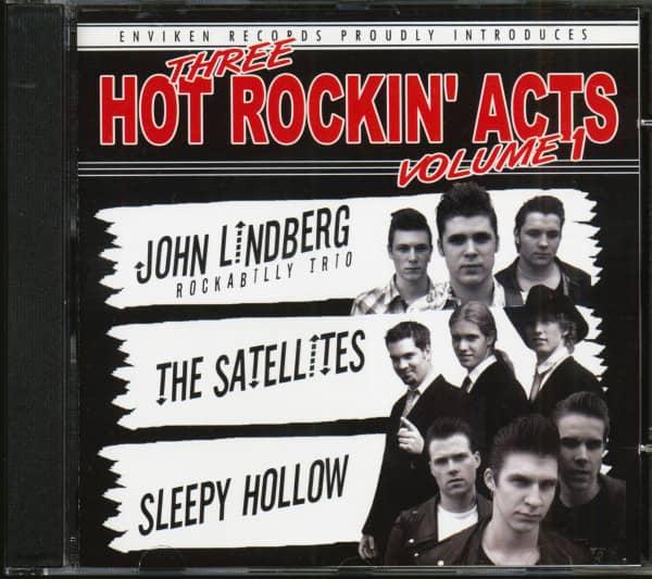 Three Hot Rockin' Acts Vol.1 (CD)