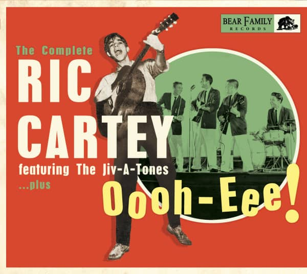 Oooh-Eee - The Complete Ric Cartey Featuring The Jiv-A-Tones, plus (CD)