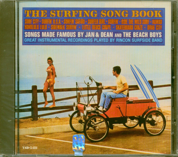 The Surfing Songbook (CD)