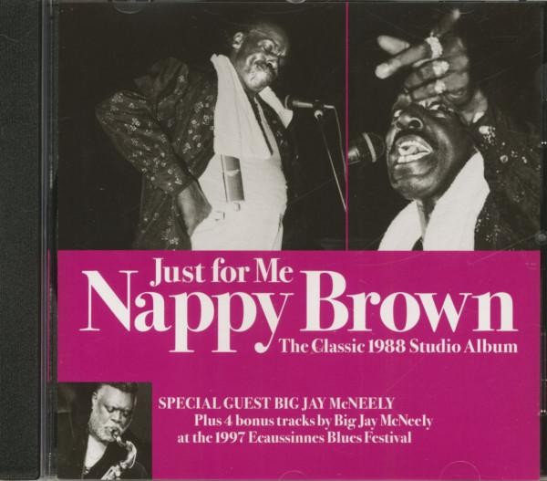 Just For Me - The Classic 1988 Studio Album (CD)
