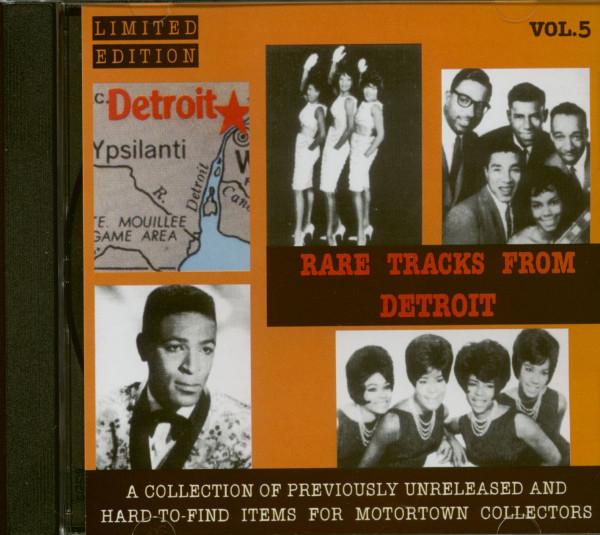 Rare Tracks From Detroit Vol.5 (CD)