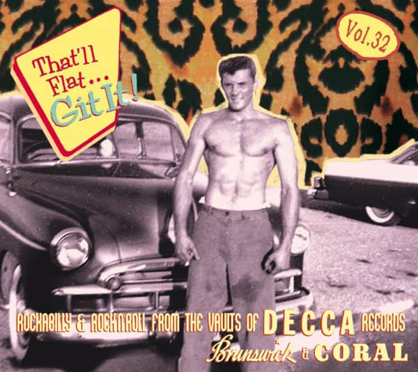 Vol. 32 - Rockabilly And Rock 'n' Roll From The Vaults Of Decca, Brunswick, Coral Records (CD)