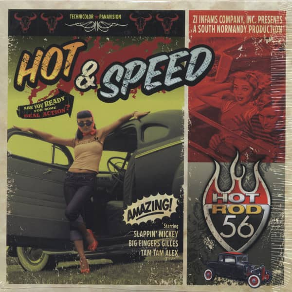 Hot & Speed (10 inch LP)