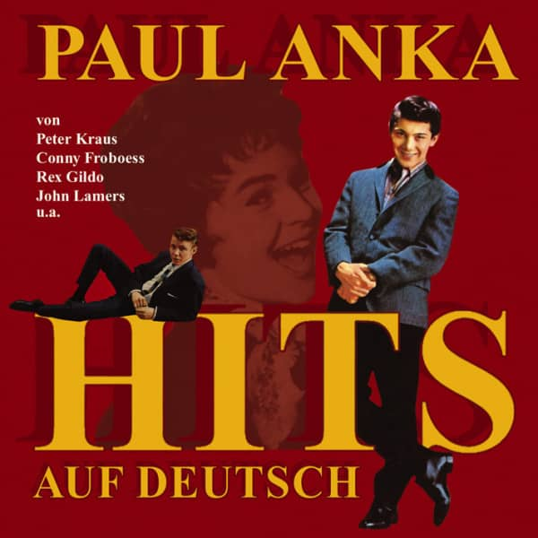 Paul Anka Hits auf Deutsch