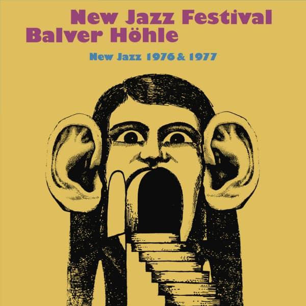 New Jazz Festival Balver Höhle 1976 & 1977 (8-CD Box)