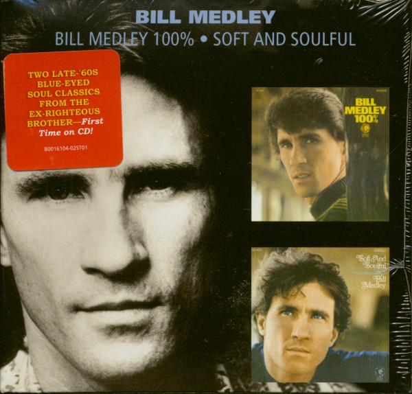 Bill Medley 100% - Soft And Soulful (CD)