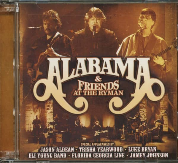 Alabama And Friends At The Ryman (2-CD)