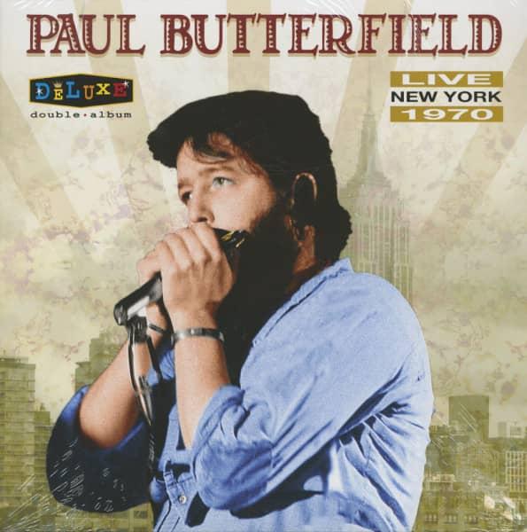 Live New York 1970 (2-LP)