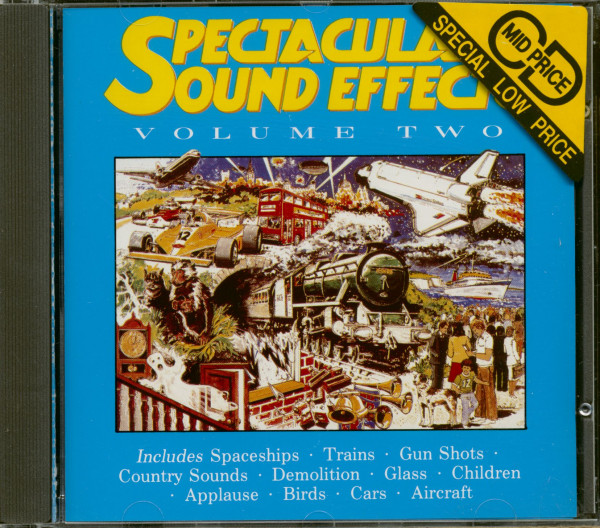 Spectacular Sound Effects - Volume Two (CD)